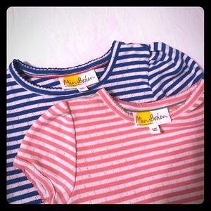 Mini Boden size 5-6 girls shirts